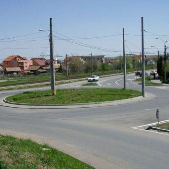 Realizare modificari la trama stradala existenta in vederea construirii solutiei de trafic pentru hala Baumax, Cluj-Napoca
